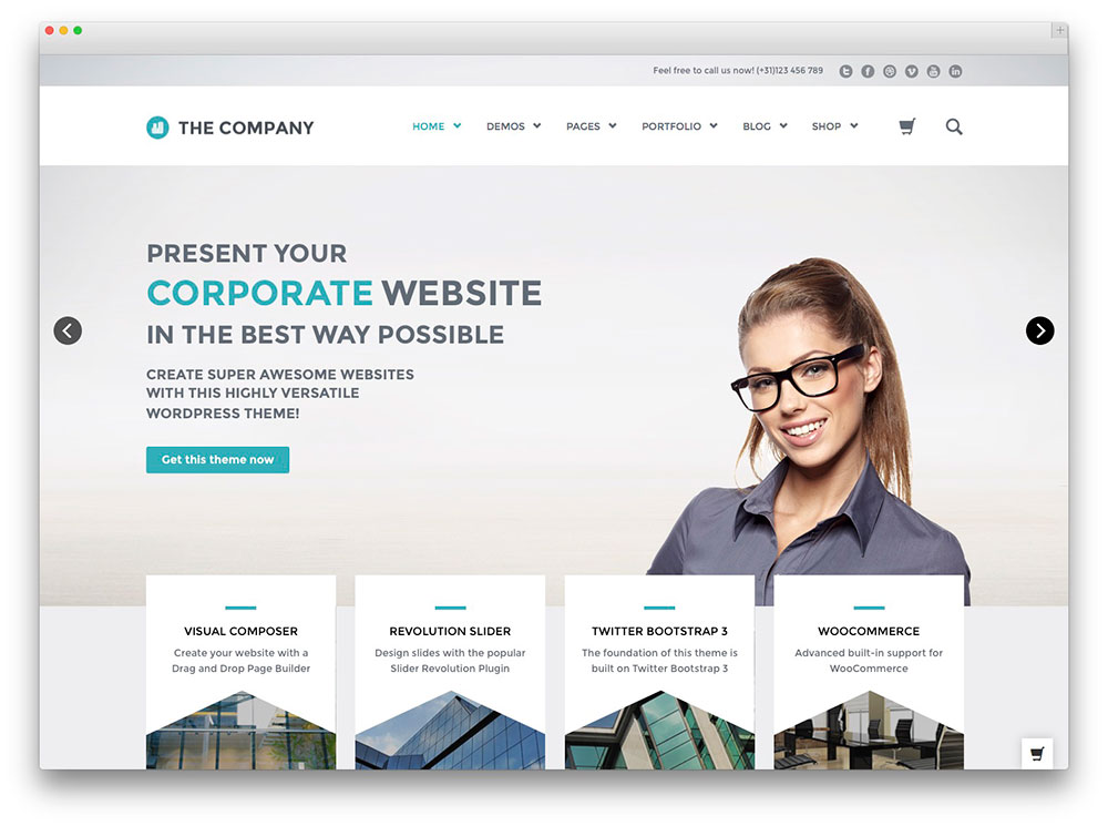 creare website corporate, de afaceri