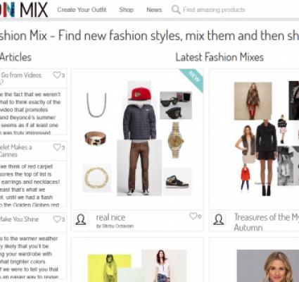 Fashionmix – fashion and social media website