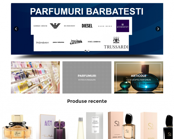 Spoofs – magazin de parfumuri